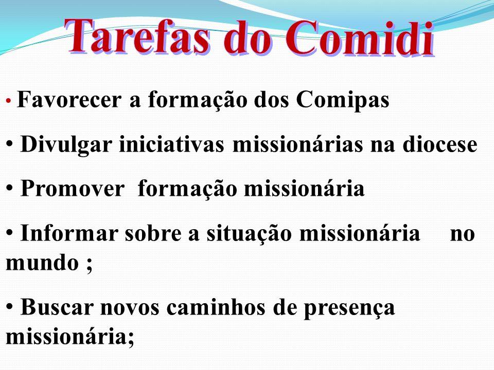 Divulgar iniciativas missionárias na diocese
