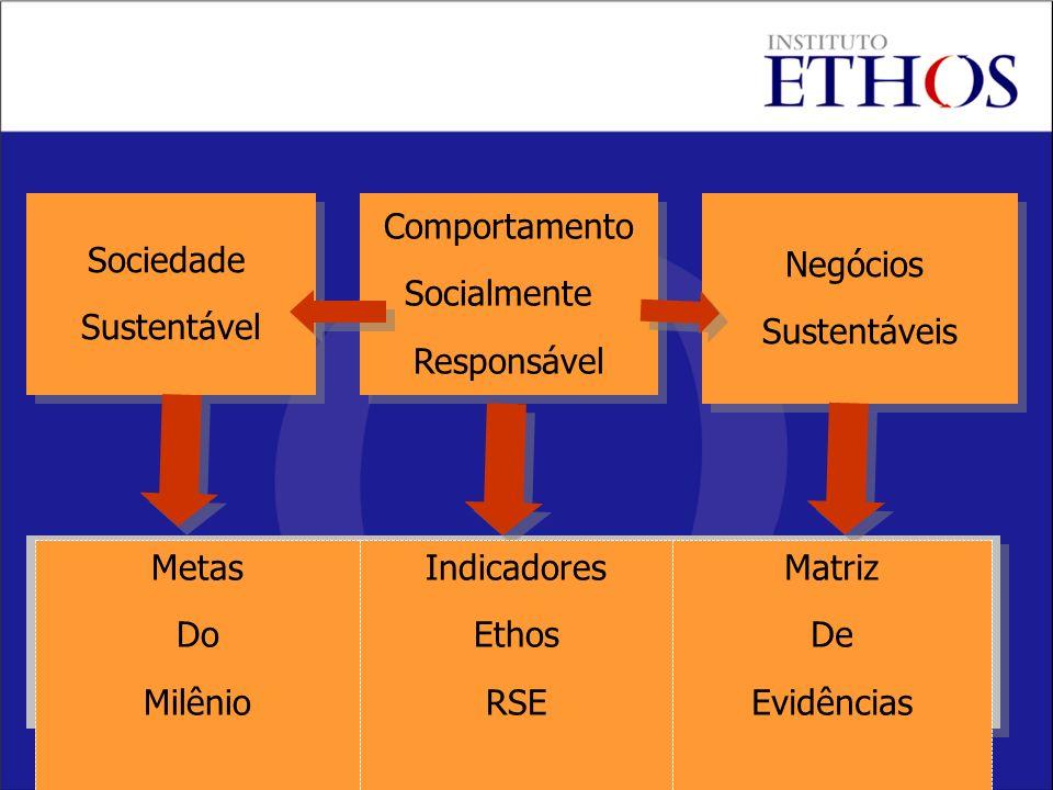 Sociedade Sustentável. Comportamento. Socialmente. Responsável. Negócios. Sustentáveis. Matriz.