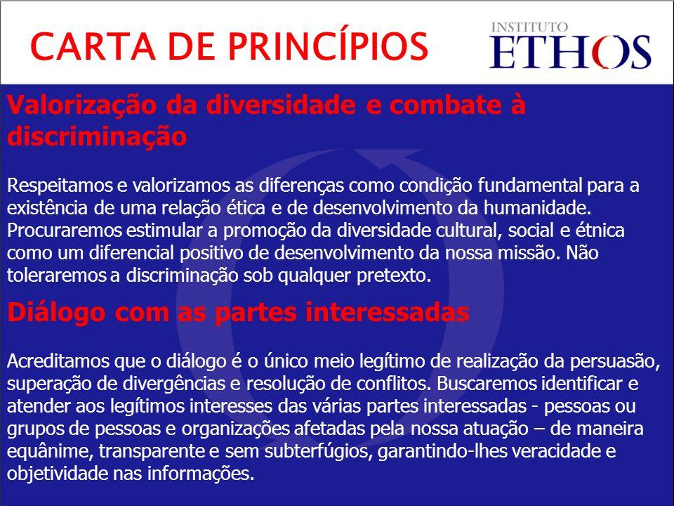 CARTA DE PRINCÍPIOS