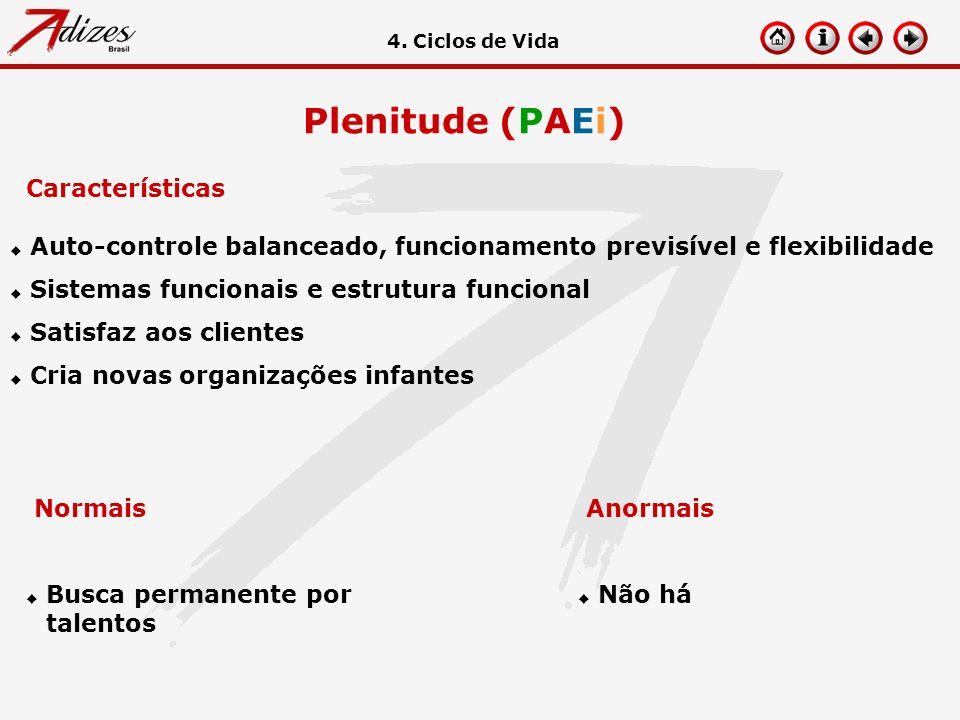 Plenitude (PAEi) Características