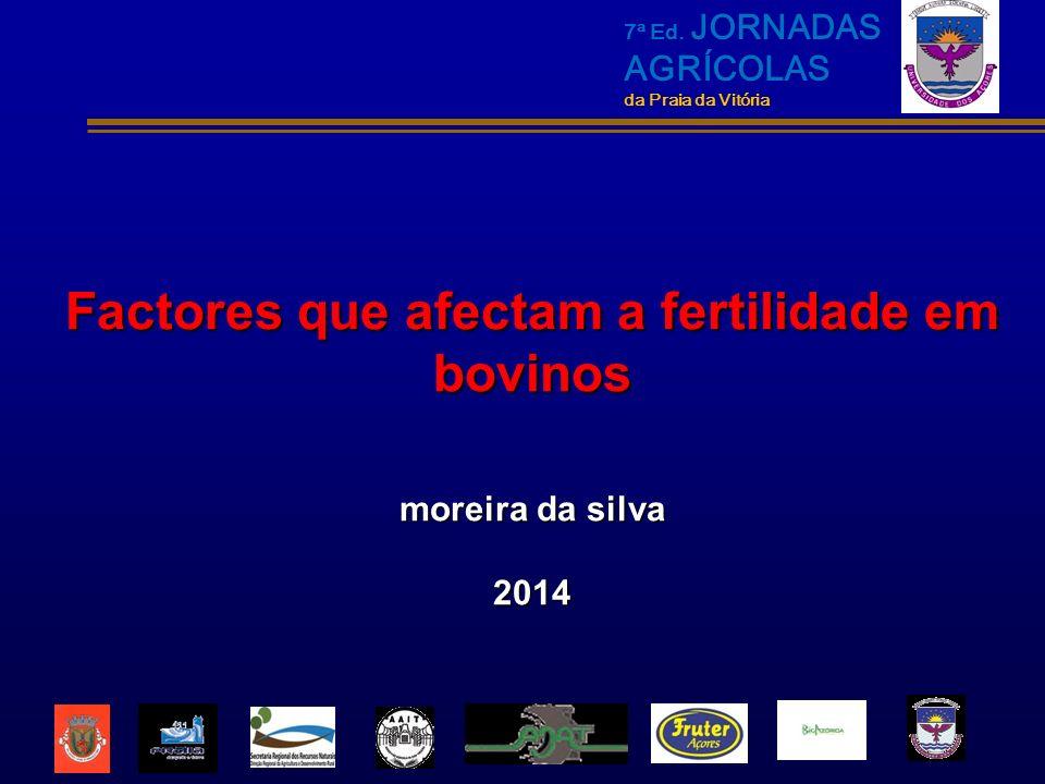 Factores que afectam a fertilidade em bovinos