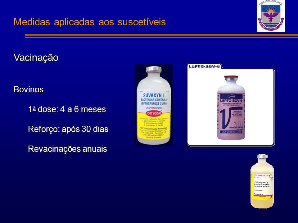 Medidas aplicadas aos suscetíveis