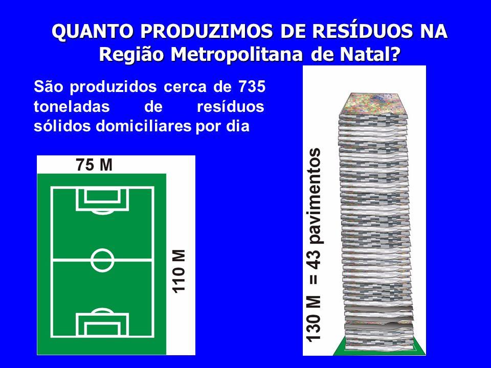 QUANTO PRODUZIMOS DE RESÍDUOS NA Região Metropolitana de Natal