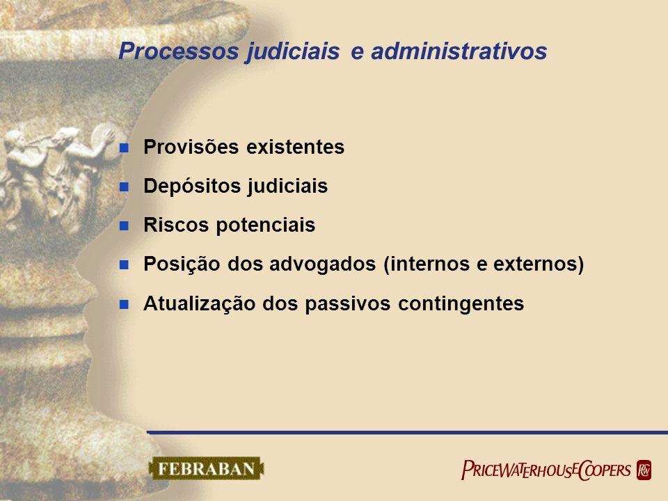 Processos judiciais e administrativos
