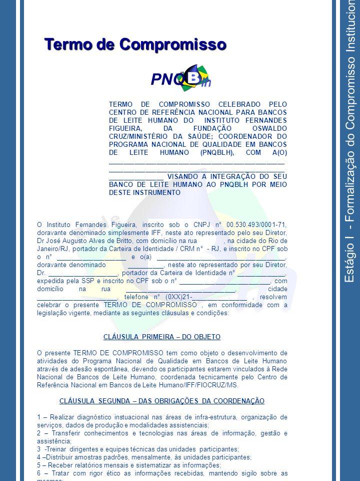 Termo de Compromisso PNQ