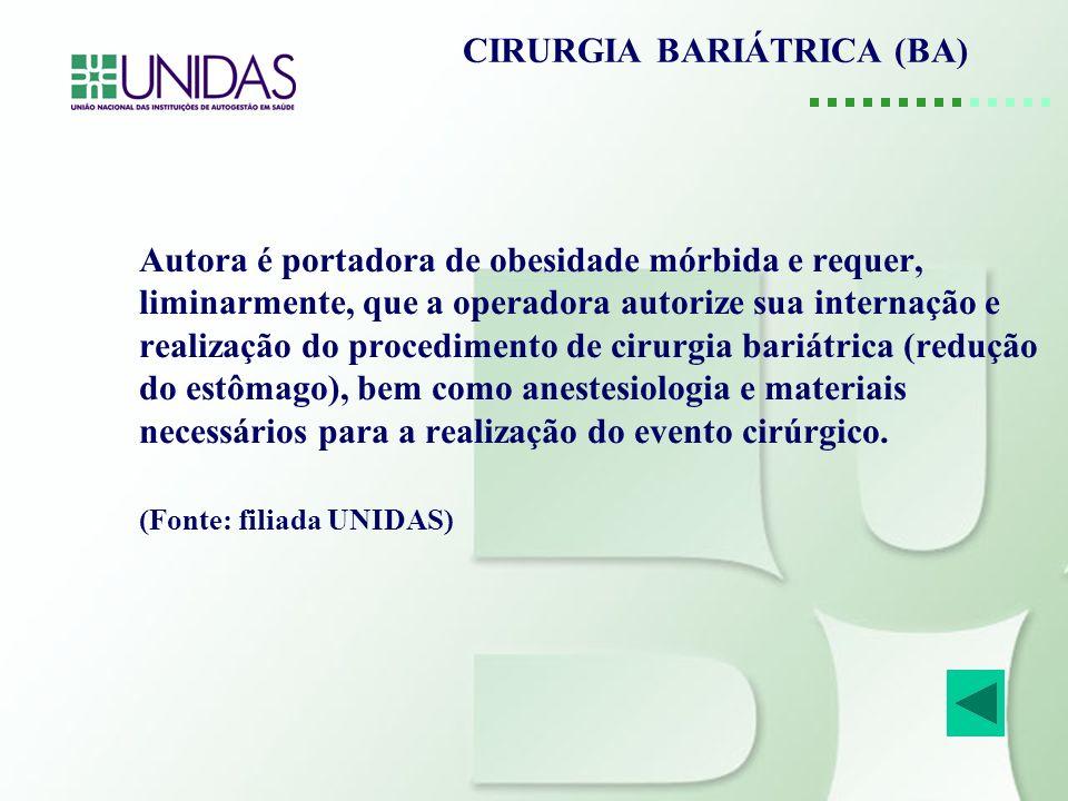 CIRURGIA BARIÁTRICA (BA)