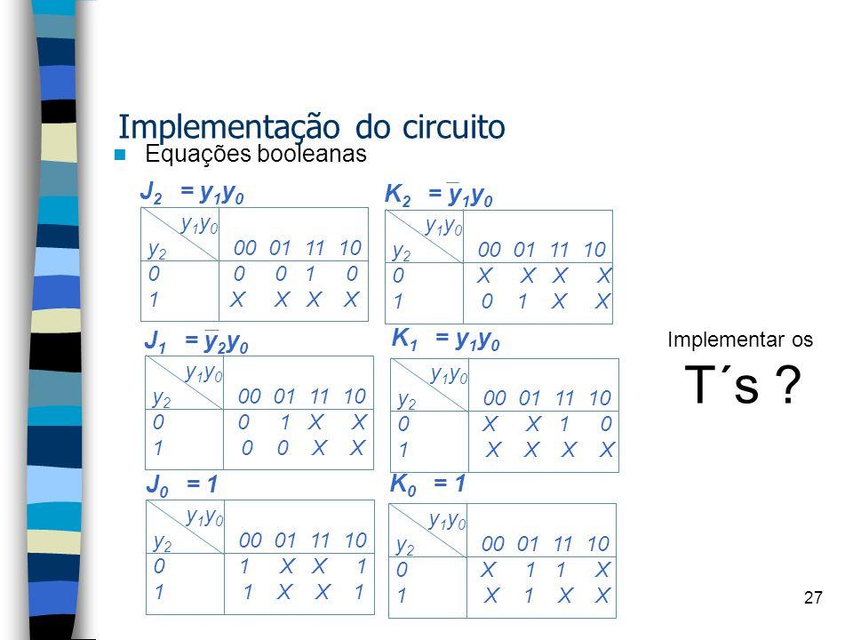 Implementação do circuito