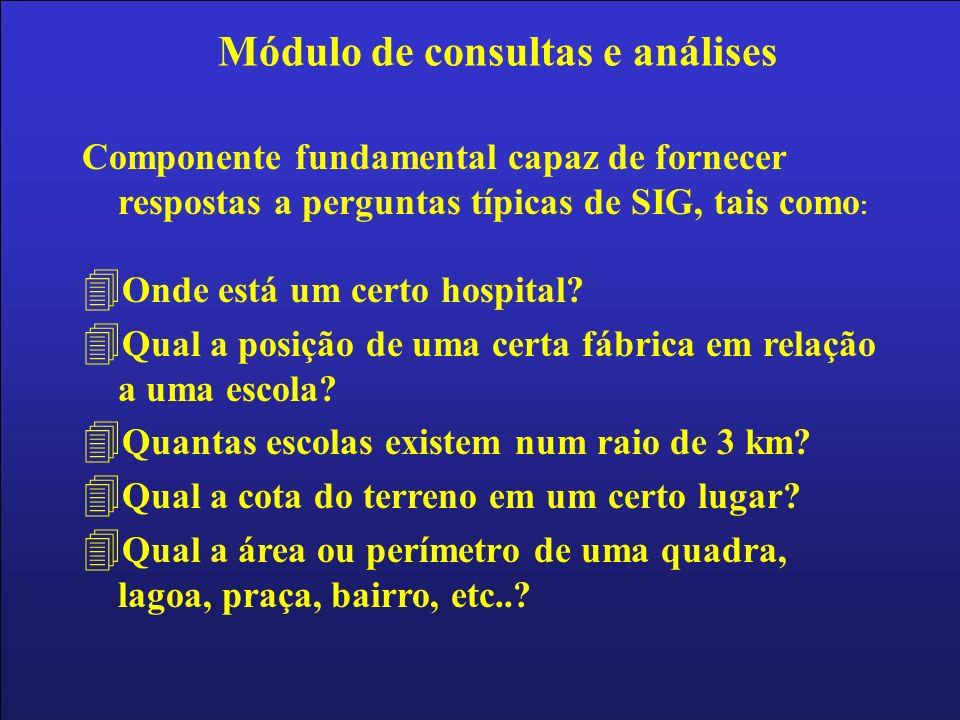 Módulo de consultas e análises