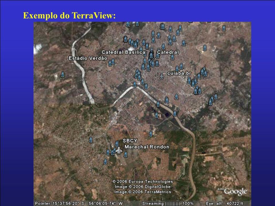 Exemplo do TerraView: