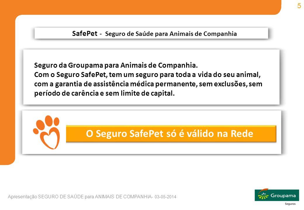 SafePet - Seguro de Saúde para Animais de Companhia