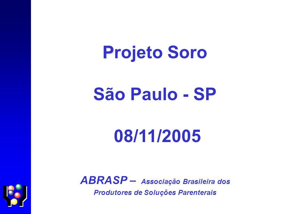 ABRASP – Associação Brasileira dos Produtores de Soluções Parenterais
