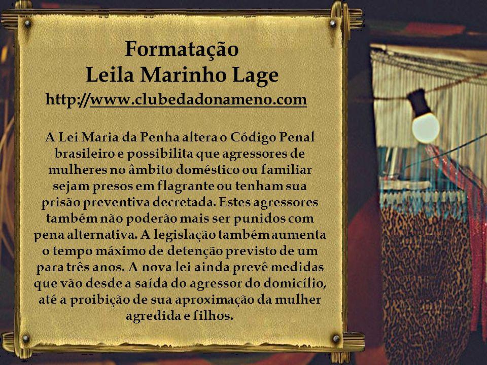 Formatação Leila Marinho Lage