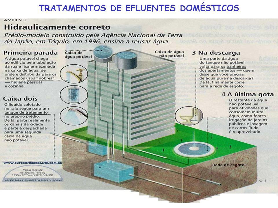 TRATAMENTOS DE EFLUENTES DOMÉSTICOS