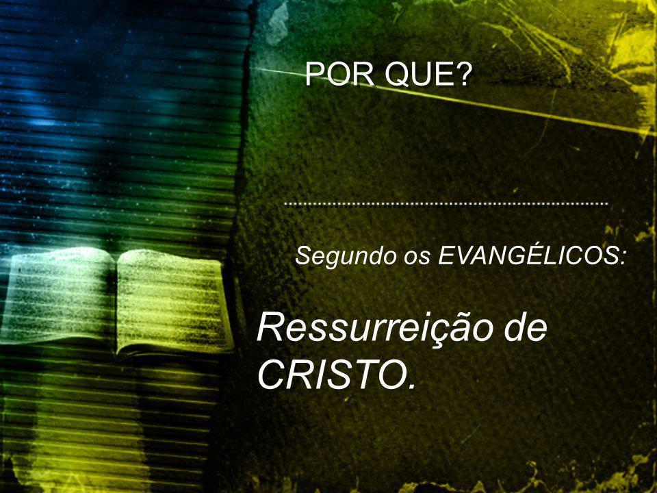Ressurreição de CRISTO.