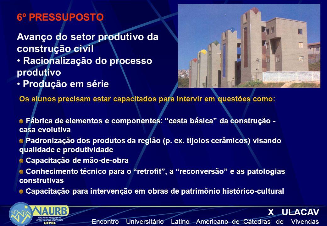 Avanço do setor produtivo da construção civil