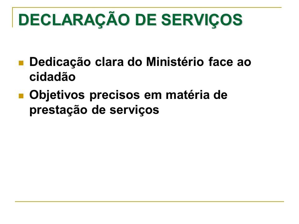 DECLARAÇÃO DE SERVIÇOS