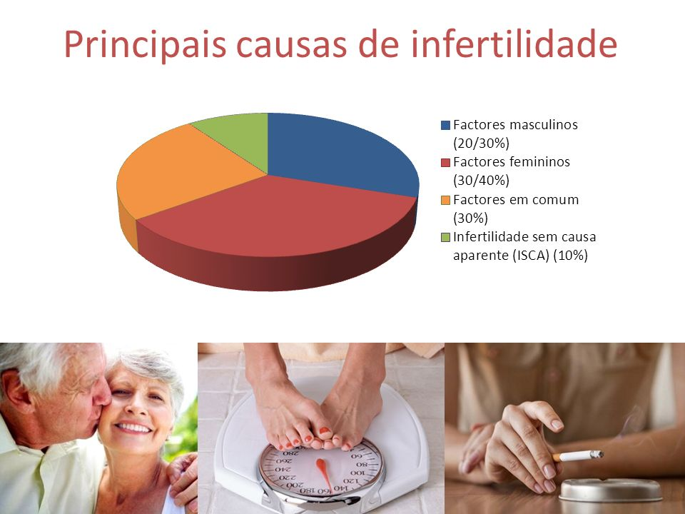 Principais causas de infertilidade