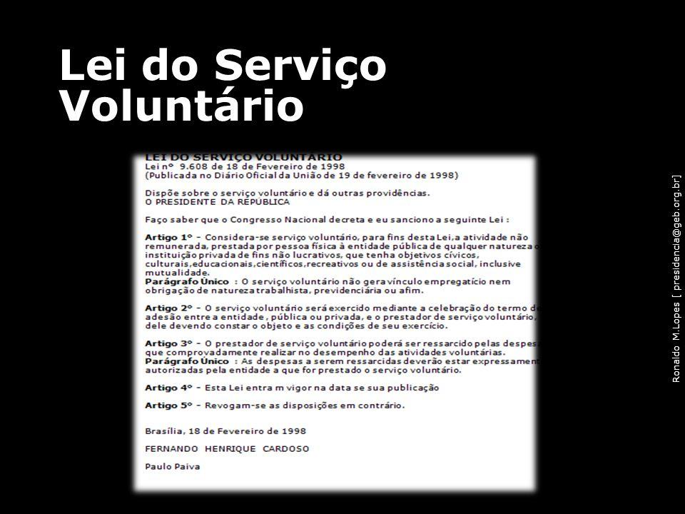 Lei do Serviço Voluntário