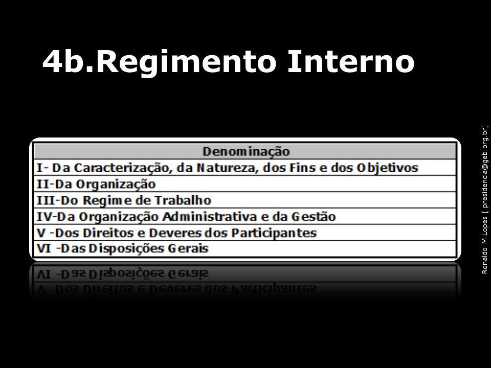 4b.Regimento Interno
