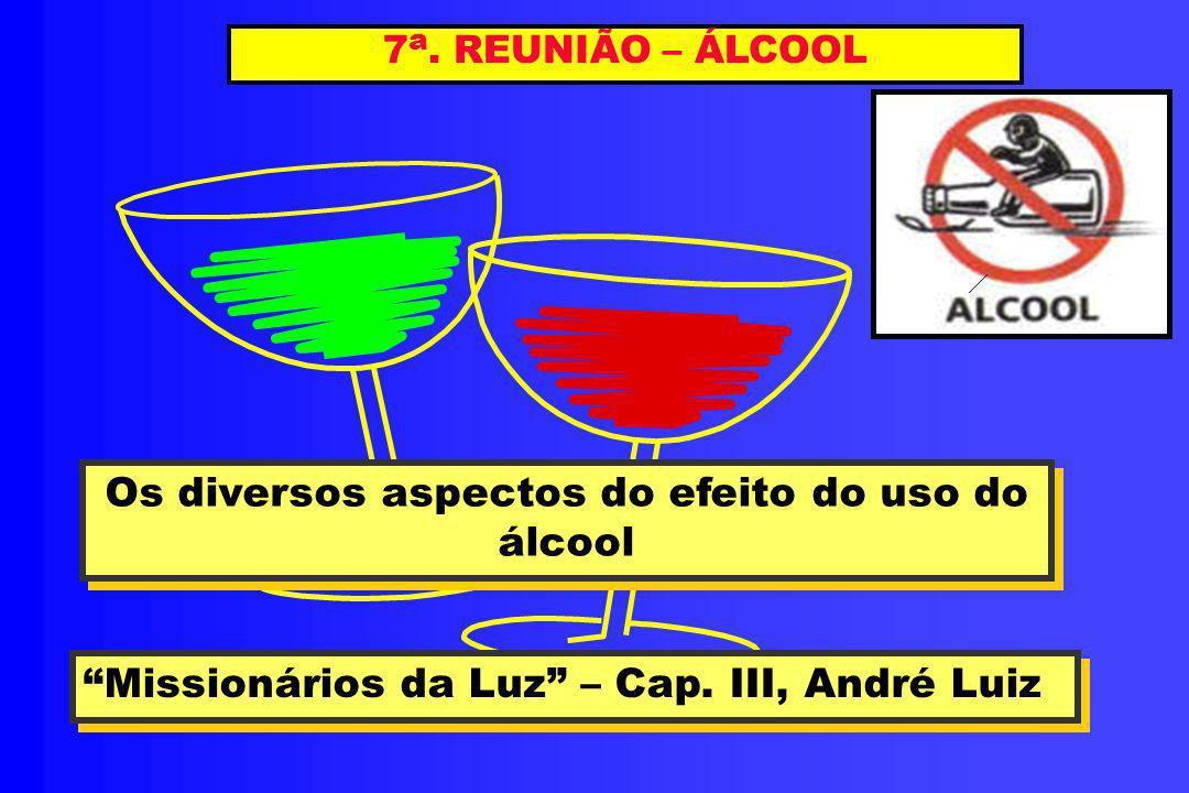 Os diversos aspectos do efeito do uso do álcool