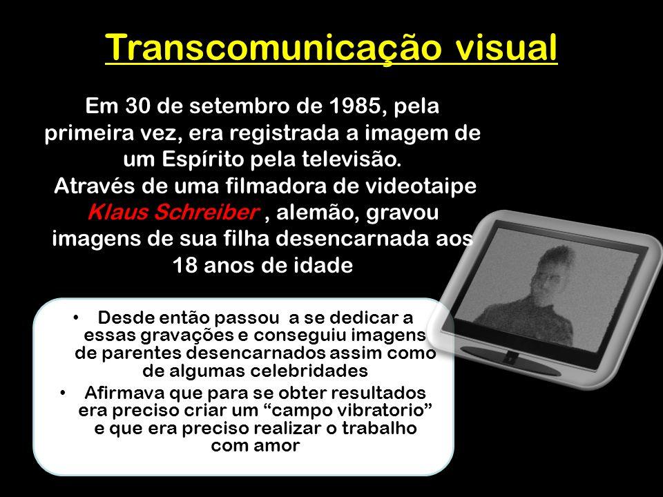 Transcomunicação visual