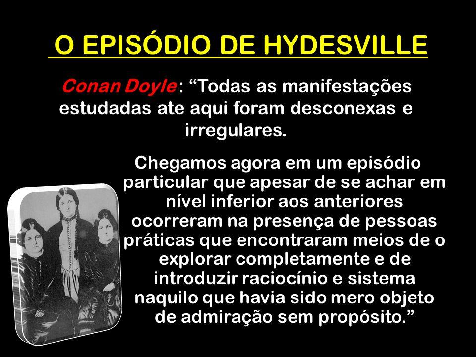 O EPISÓDIO DE HYDESVILLE