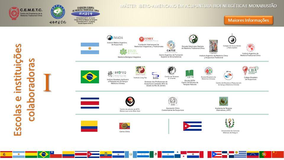 Escolas e instituições colaboradoras