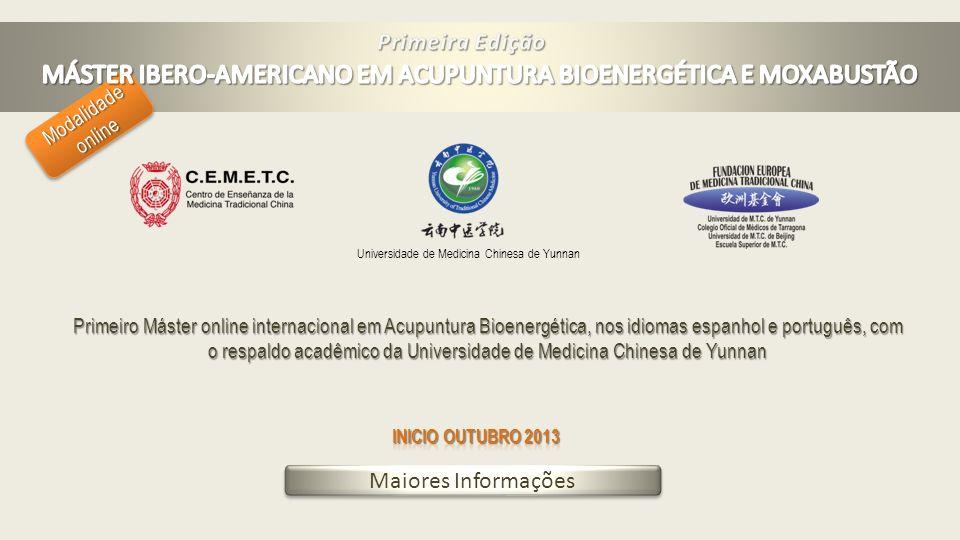 MÁSTER IBERO-AMERICANO EM ACUPUNTURA BIOENERGÉTICA E MOXABUSTÃO