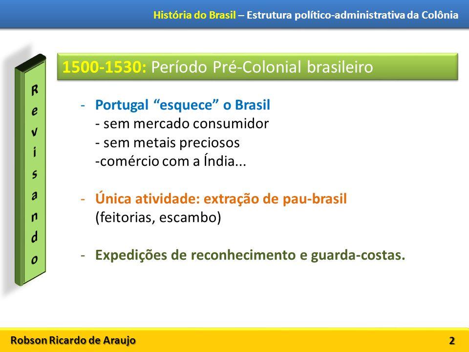 1500-1530: Período Pré-Colonial brasileiro
