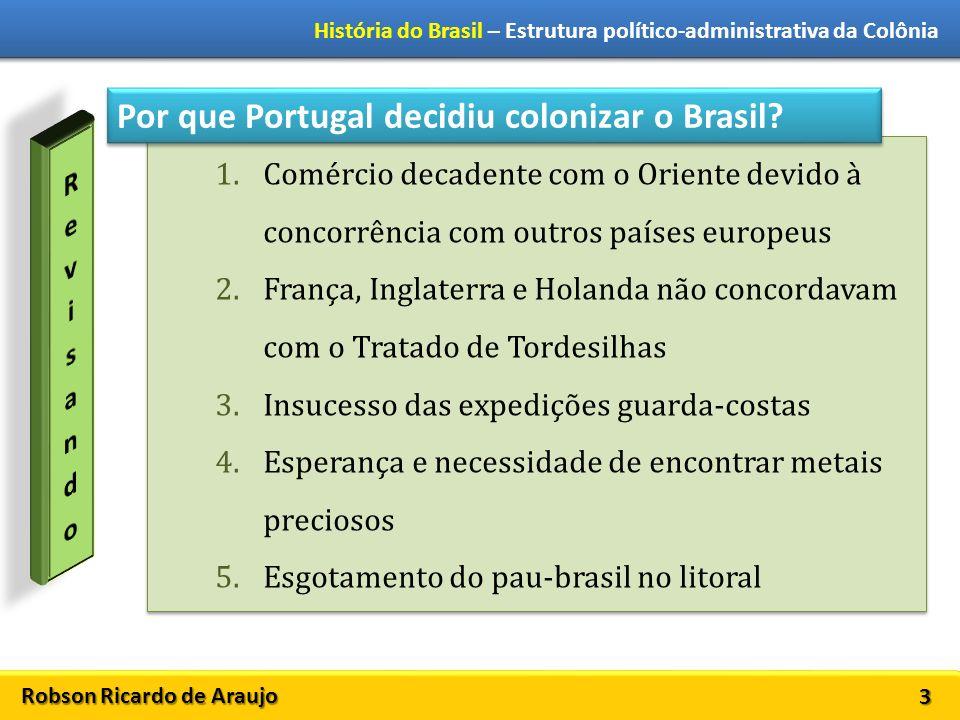 Por que Portugal decidiu colonizar o Brasil