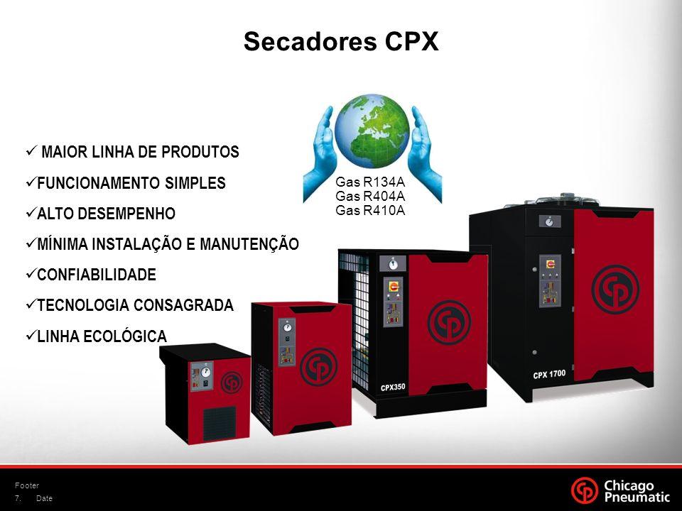 Secadores CPX MAIOR LINHA DE PRODUTOS FUNCIONAMENTO SIMPLES