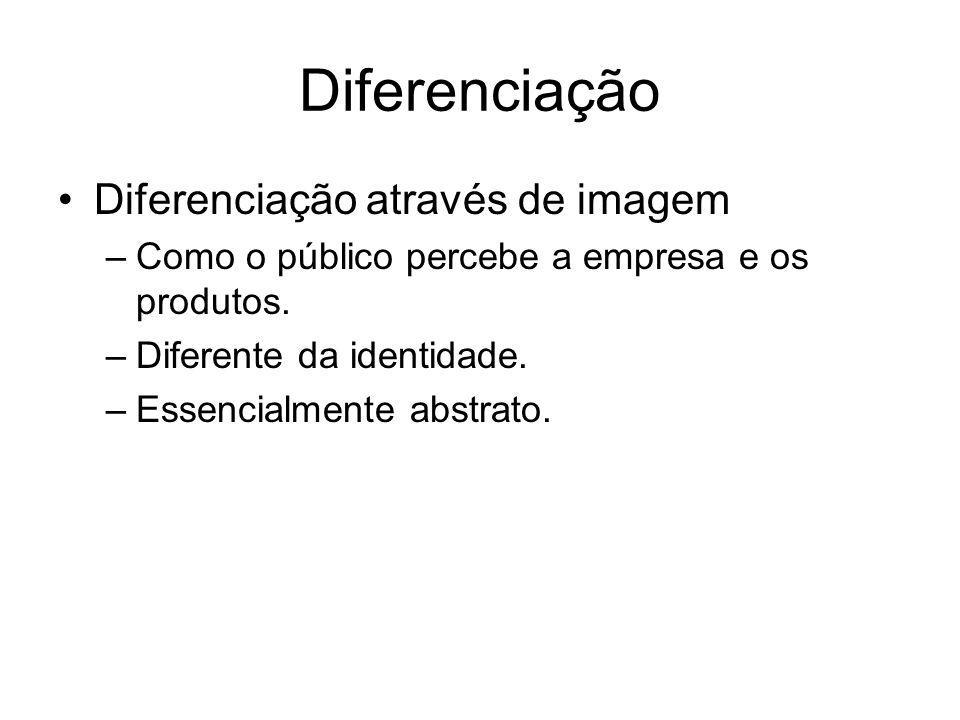 Diferenciação Diferenciação através de imagem