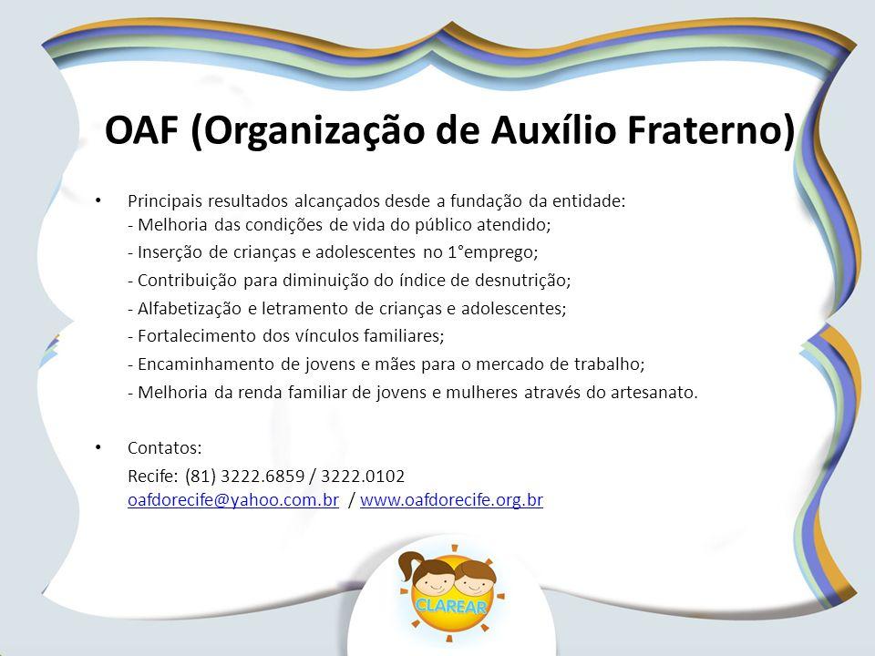 OAF (Organização de Auxílio Fraterno)