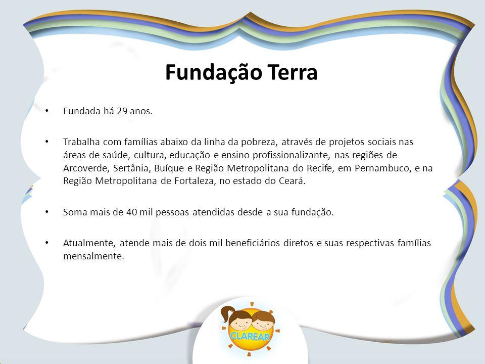 Fundação Terra Fundada há 29 anos.
