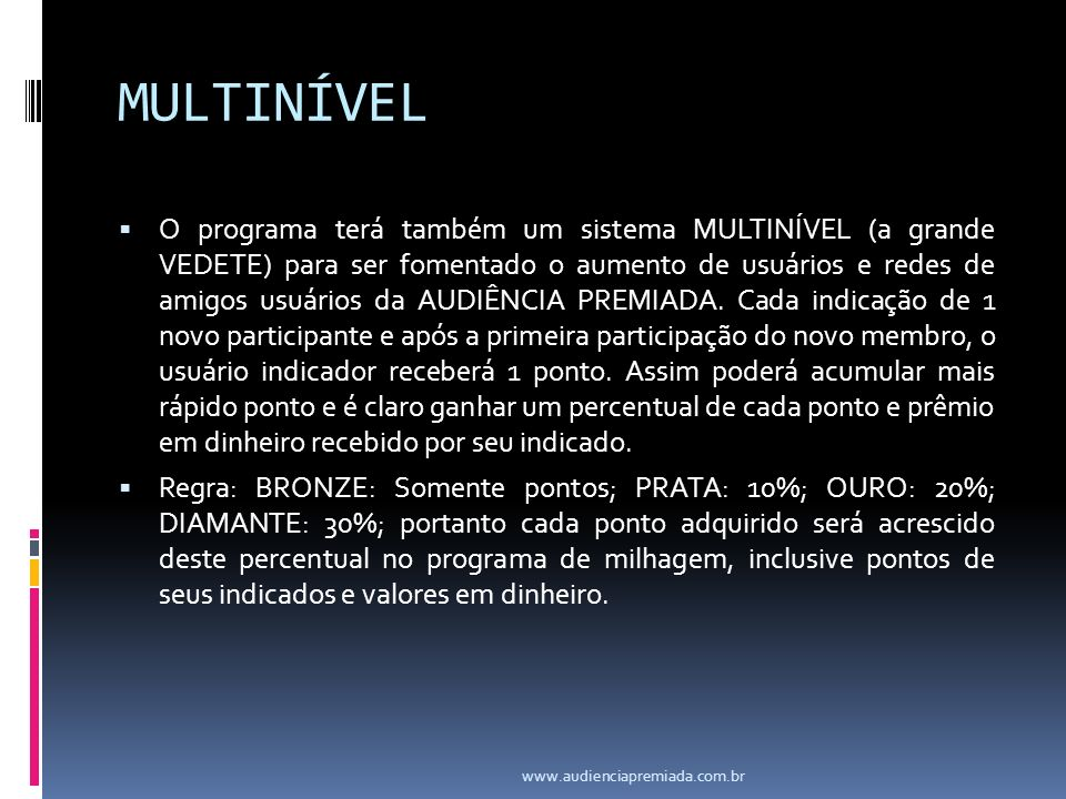 MULTINÍVEL