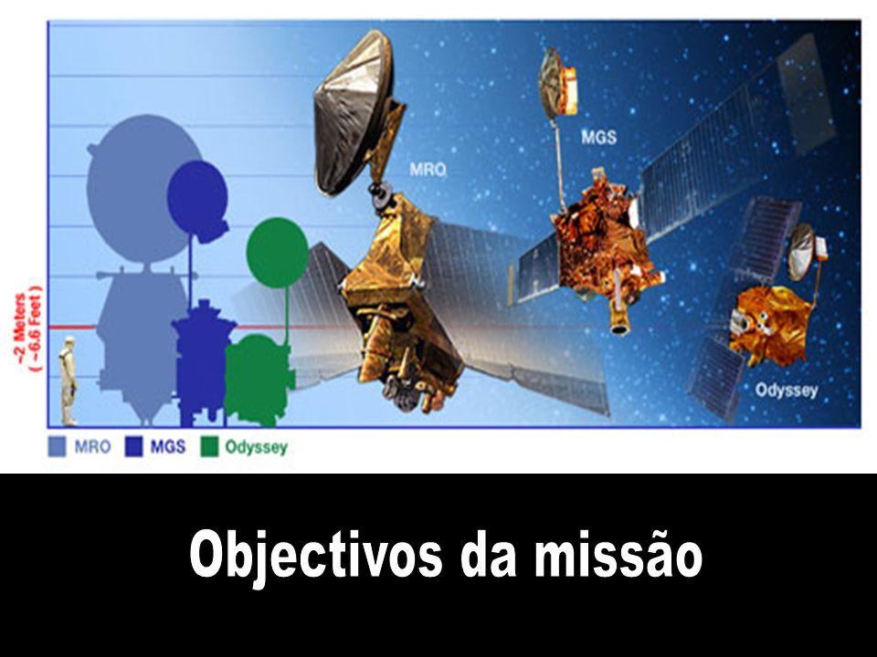 A sonda pesa 2180 quilos ( duas vezes a MGS ) e com uma carga útil de 139 quilos, constituídos por seis equipamentos científicos. Mede 6,5 metros de altura e 13,6 metros de largura, com os painéis solares.