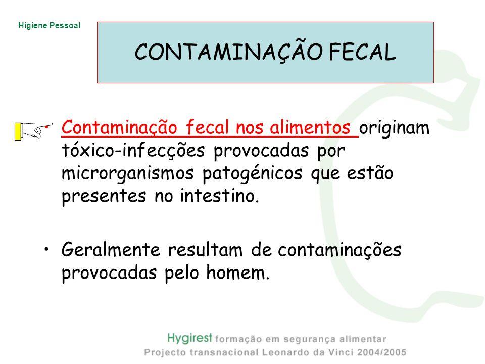 CONTAMINAÇÃO FECAL