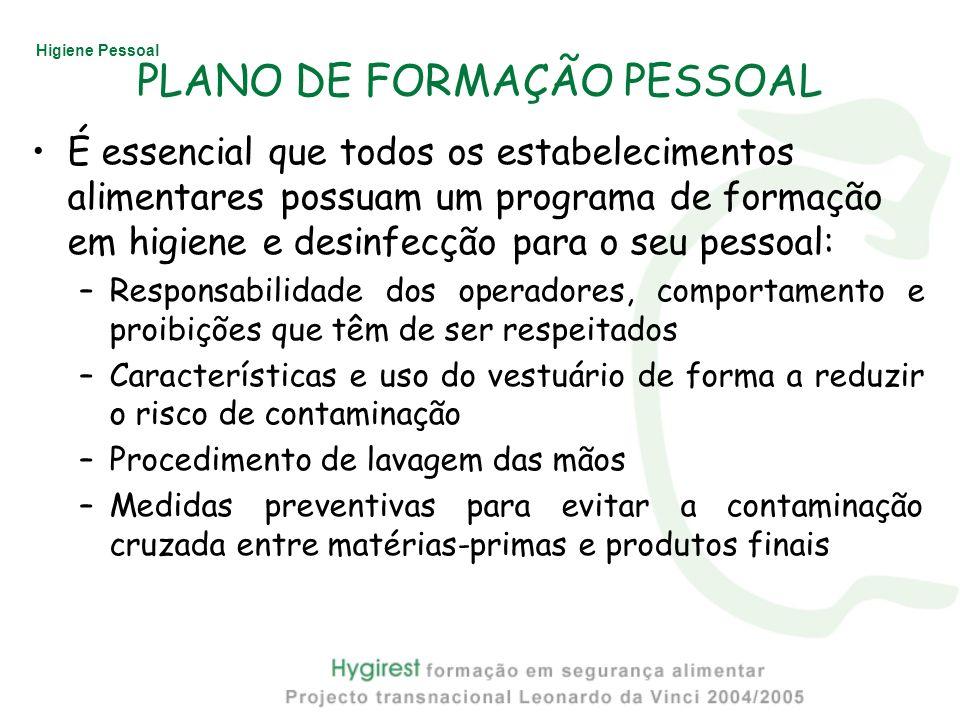 PLANO DE FORMAÇÃO PESSOAL