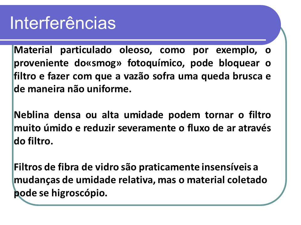 Interferências