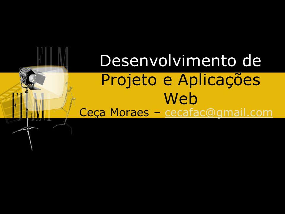 Desenvolvimento de Projeto e Aplicações Web