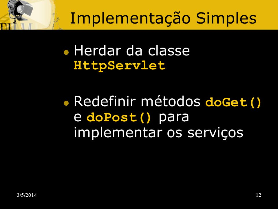 Implementação Simples