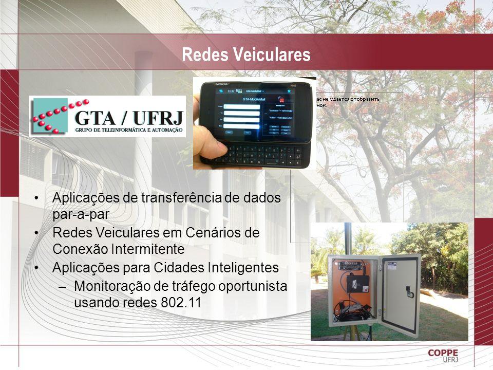 Redes Veiculares Aplicações de transferência de dados par-a-par