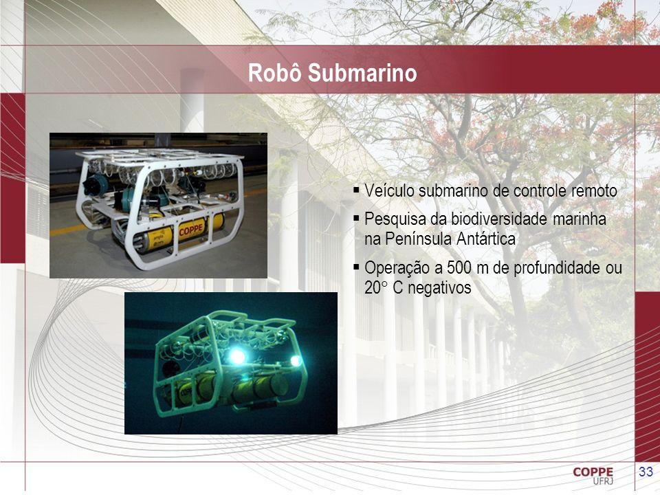 Robô Submarino Veículo submarino de controle remoto