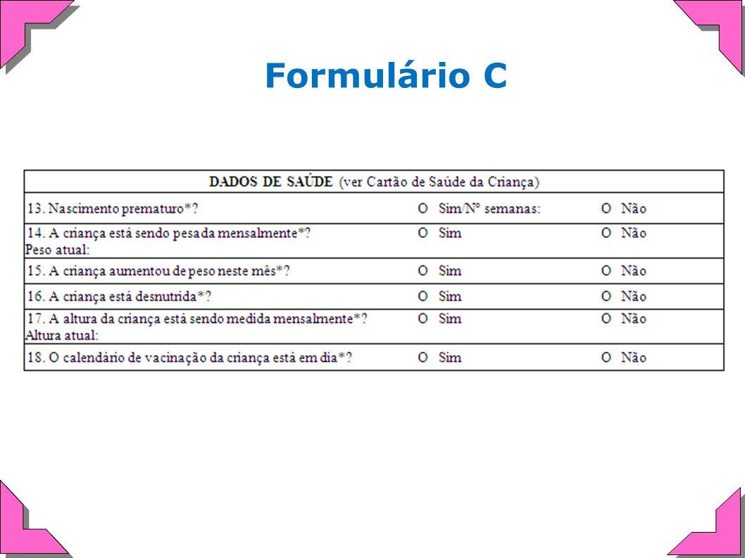 Formulário C
