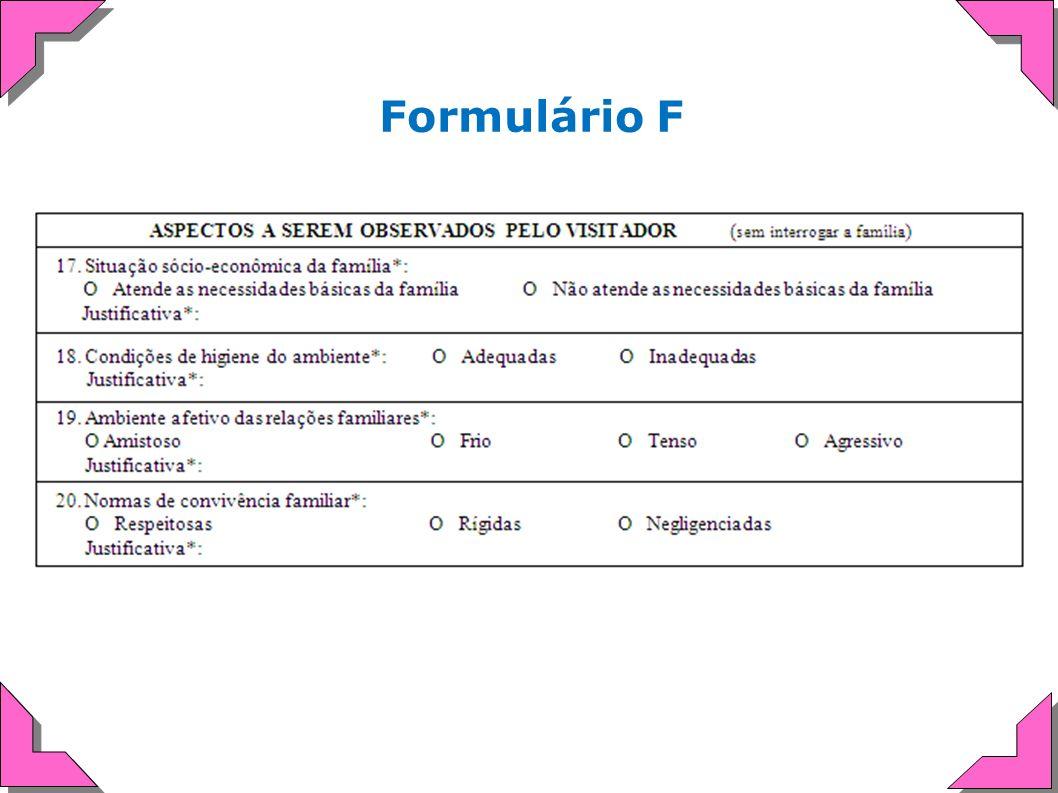 Formulário F