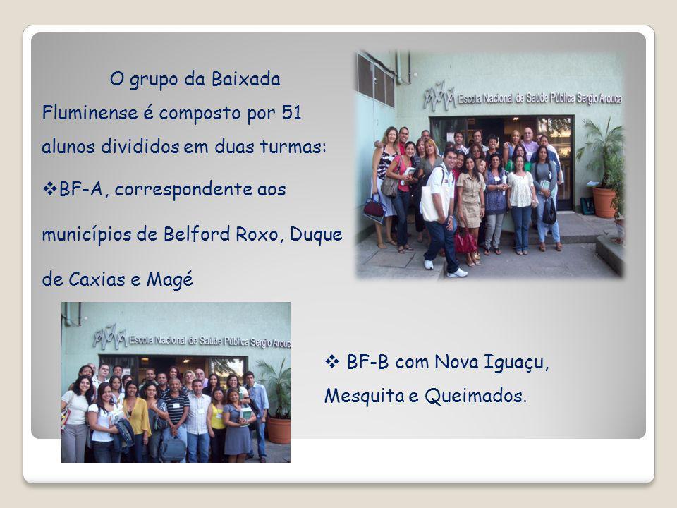 O grupo da Baixada Fluminense é composto por 51 alunos divididos em duas turmas: