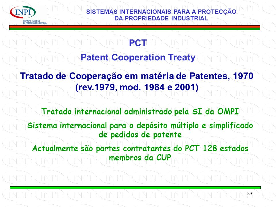 Patent Cooperation Treaty