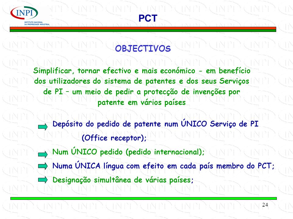 PCT OBJECTIVOS.