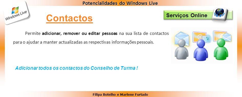 Contactos Serviços Online