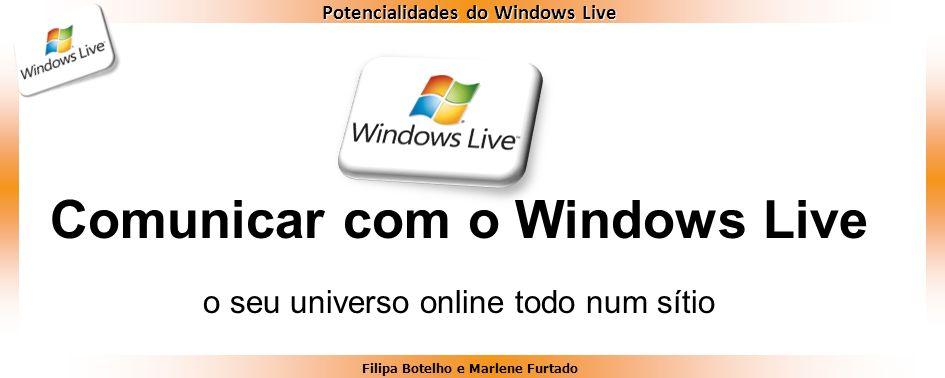 Comunicar com o Windows Live
